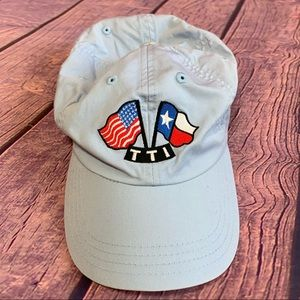 TTI CAP with Texas and American Flag